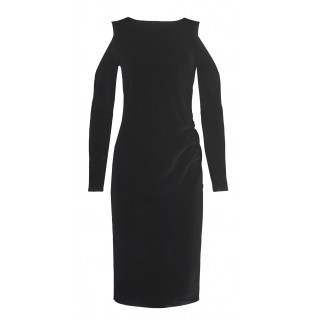Chicard black velvet dress