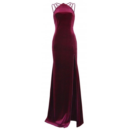 Irene Angelopoulos couture maxi dress