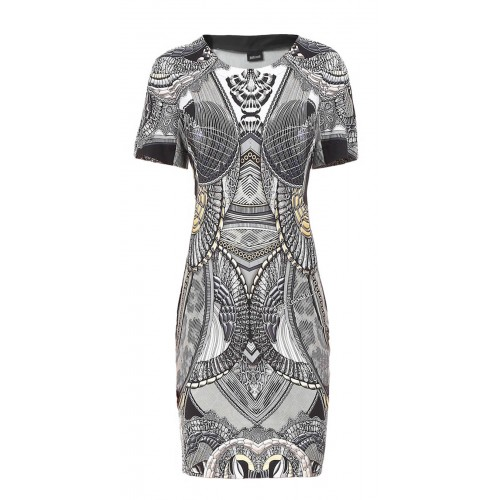 Just Cavalli black and white dress