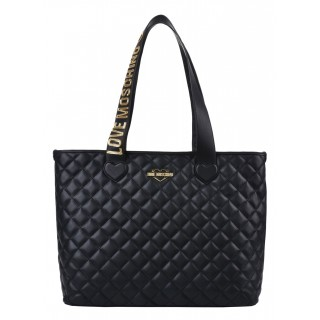 Love Moschino black shopping bag