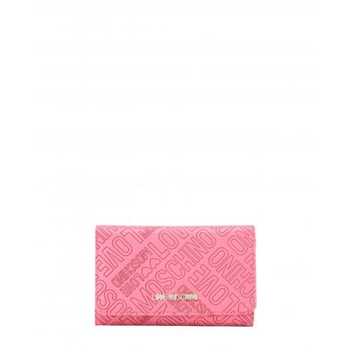 Love Moschino fuchsia wallet