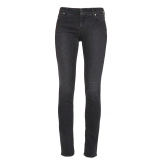 Love Moschino black jeans with heart