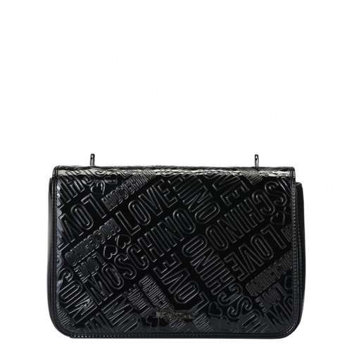 Love Moschino patent leather bag
