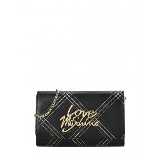 Love Moschino black cross-body bag