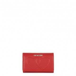 Love Moschino red wallet