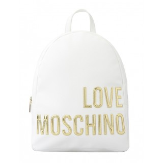 Love Moschino white backpack