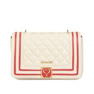 Love Moschino ivory handbag