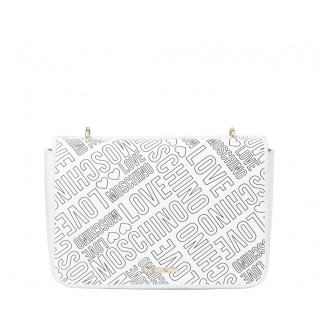 Love Moschino white bag with logo