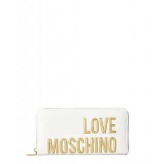 Love Moschino white wallet