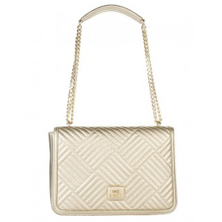 Love Moschino gold bag