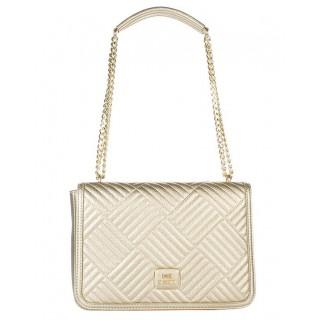 Love Moschino gold bag
