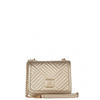 Love Moschino small gold bag