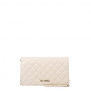 Love Moschino small ivory bag