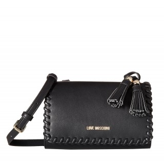 Love Moschino black bag with tassel