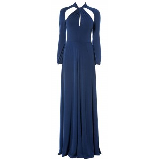 MI-RO maxi blue dress