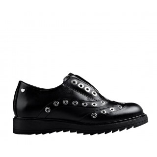 Love Moschino black moccasins