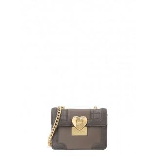 Love Moschino mini grey bag