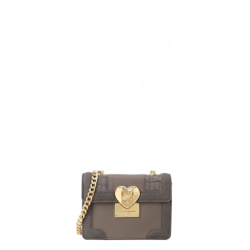 Love Moschino mini grey bag