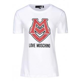 Love Moschino white T-shirt