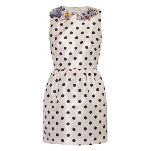 RED Valentino polka-dot dress